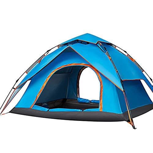 CCF-OZ Snel open Automatische Tent Outdoor 3-4 Personen Camping Zonnescherm Strand Tent Gratis te bouwen Tent Backpacking Camping Tent Lichtgewicht Outdoor Tenten Outdoor Camping Apparatuur