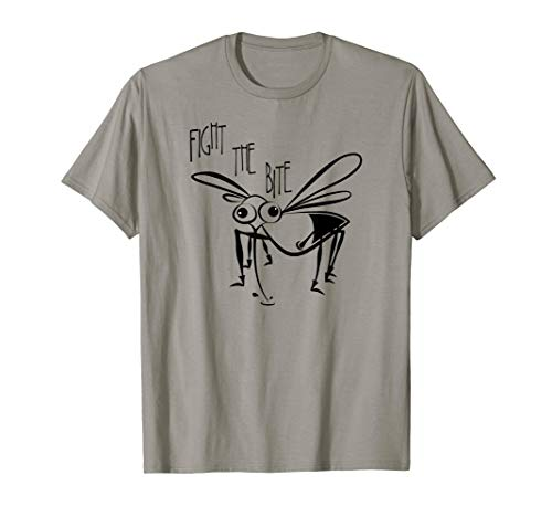 Fight the Bite Mosquito TShirt - Lyme Disease repellent