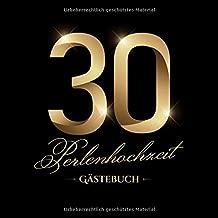 Perlenhochzeit Gästebuch Deko Zur Feier Der Perlen