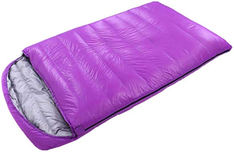 MISS&YG Doppelschlafscke, geeignet für Camping, Wandern, Camping-Indoor-und Outdoor-Aktivitten, groer Doppelschlafsack, Grundschlafsack