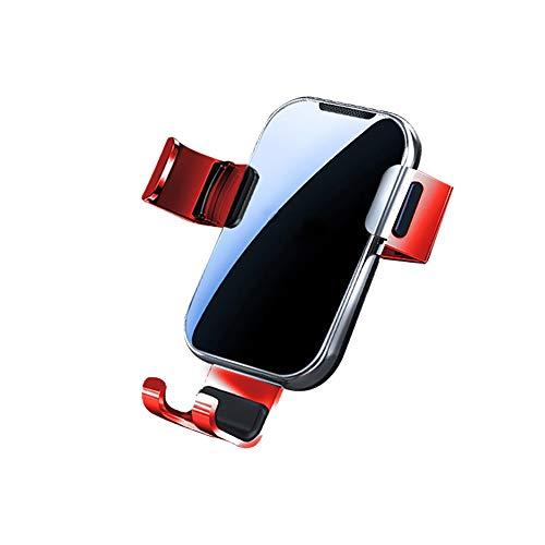 COKECO Soporte de Coche con sujeción automática por Gravedad, Soporte para teléfono Manos Libres para automóvil, operación con una Sola Mano, Bloqueo automático, Soporte para teléfono