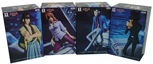 Lupin Diorama Automobile Set Completo 4 Figure 16cm Creator x Creator Part 5 Japan Goemon Gigen Fujiko