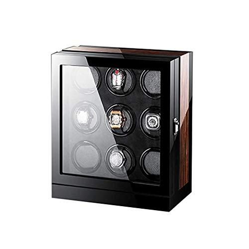 WYFX Devanadera de Reloj de Viaje para Hombre y Mujer, Caja con Interruptor en Sentido horario o antihorario, Caja enrolladora silenciosa