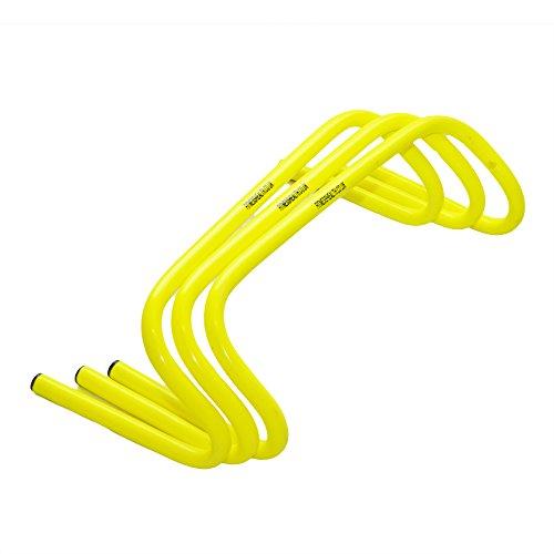 Fitness Health FH - Juego de 3 barreras para entrenamiento de velocidad de 15,24 cm, para entrenamiento de fútbol, rugby, saltos