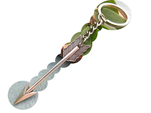 2Pcs Arrow Keychain, Arrow Charm Keychain,Boho Keychain, Arrow Keyring, Archer Keychain,Arrow Jewelry
