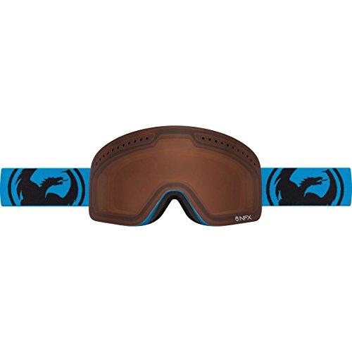 Dragon Alliance NFXs Ski Goggles, Amber/Blue