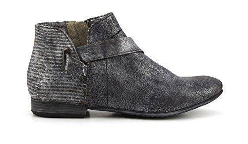 CAF Noir FC206 carbón Grises Zapatos Botas de Casquillo Postal talón de la Mujer 37 ✅