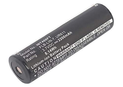 subtel® Batterie Premium Compatible avec Inova T4 / UR611, Inova: FLB-Lin-7 Streamlight: 68792 2200mAh Accu Rechange Remplacement