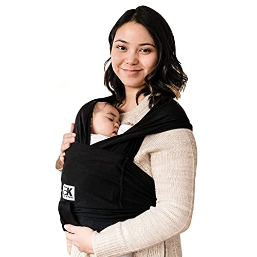 Baby K'tan Cotton Black Baby Carrier