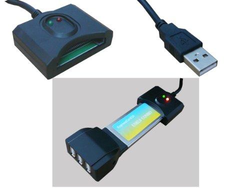 Kalea Informatique - Adaptador de ExpressCard a USB 2.0