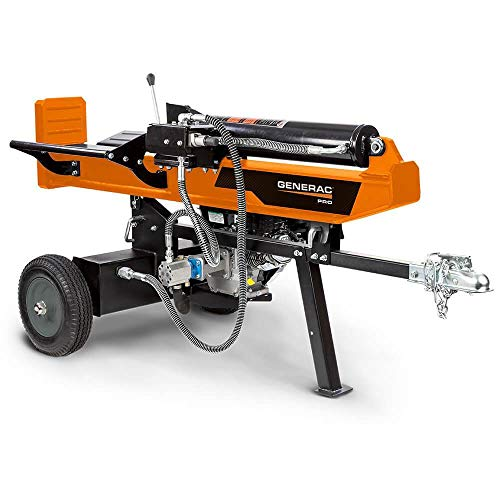 Save %10 Now! Generac WH25034GMNG Pro Horizontal-Vertical Log Splitter, Orange, Black