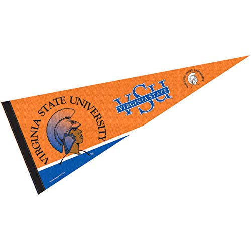 College Flags & Banners Co. Virginia State Trojans Pennant Full Size Felt