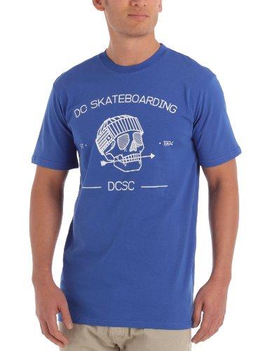 DC Shoes Skulldaze Men Tee - T-Shirt - Homme - Bleu (Olympian Blue) - S
