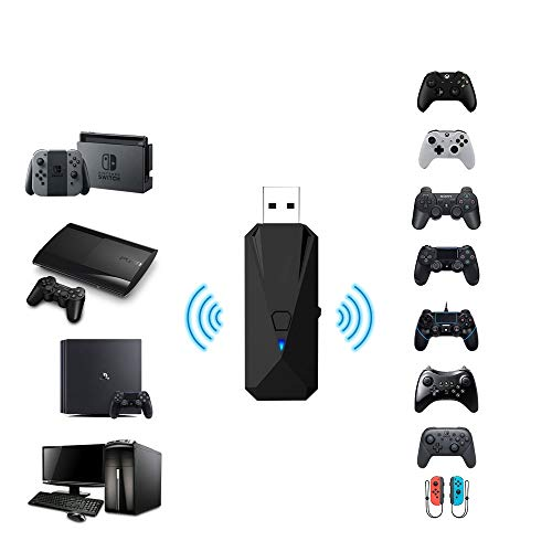 Joytorn Wireless Controller Adapter Converter-Allows for Use of PS4/Xbox/PS3 Controllers with PS4/PS3/Nintendo Switch/PC Console