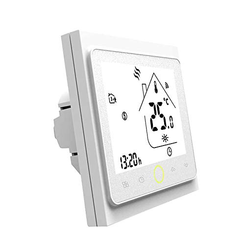 Blusea Termostato Programable WiFi 3A para calefacción Indi