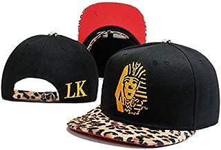 QOHNK New Egyptian Pharaoh Hats Last King Lk Baseball Caps Gorras Sports Hip Hop Hat