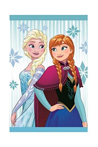 Theonoi Kinderhandtuch Handtuch Kinder Gästehandtuch Gesichtstuch - Baumwolle - Frozen ELSA und Anna - Disney tolles Geschenk für Mädchen (Frozen 02)