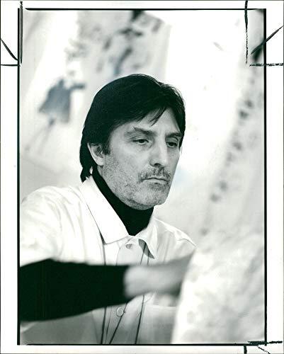Vintage photo of Emanuel Ungaro.
