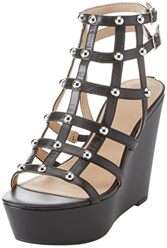 Guess Footwear Dress Sandal, Zapatos con Plataforma para Mujer