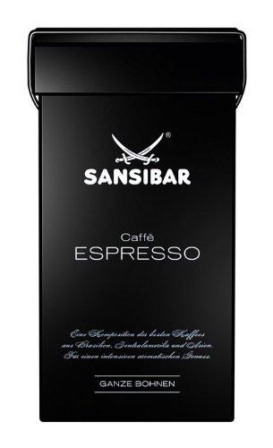 Sansibar Caffè Espresso ganze Bohne, 250g, 1er Pack (1 x 250 g)