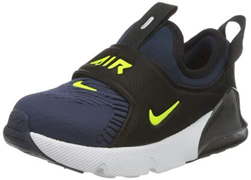 Nike Air Max 270 Extreme (TD), Chaussure de Piste d'athltisme, Bleu Midnight Navy Lemon Venom Black Anthracite, 21 EU