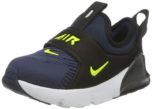 Nike Air MAX 270 Extreme (TD), Zapatillas de Gimnasio Unisex Niños, Midnight Navy Lemon Venom Black Anthracite, 21 EU
