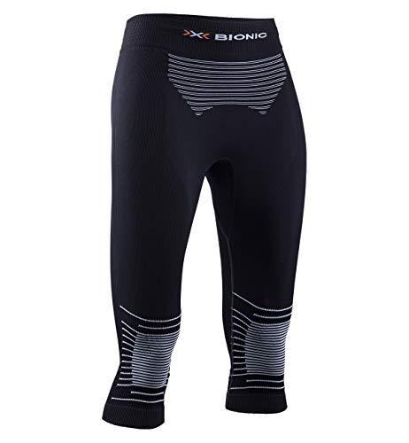 X-BIONIC Energizer 4.0 Pantalon 3/4 pour Femme S Noir/Blanc