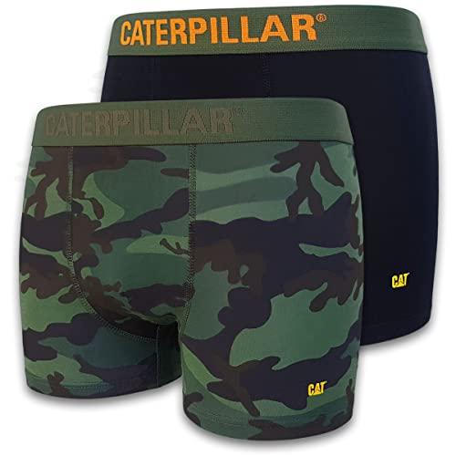 Caterpillar CAT Herren Boxershorts Camouflage Boxer Short Unterhosen in Größen M, L, XL, XXL (4er oder 8er Pack) (8, L)