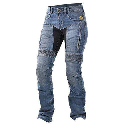 Trilobit Motorrad Damen Jeans,blau, 30L