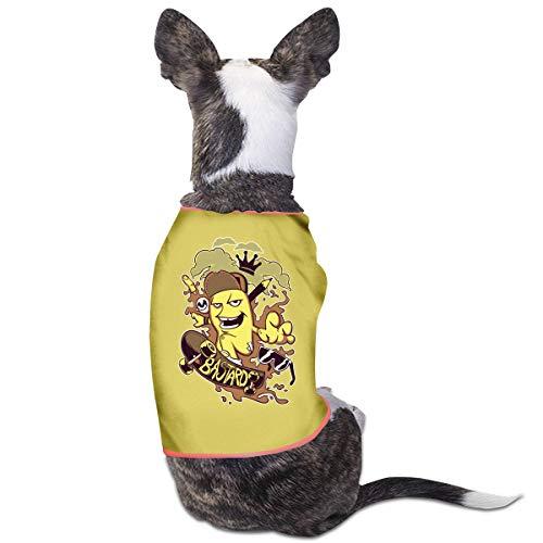 CCYK Hundeweste, Skateboard-Motiv, warm, für Herbst und Winter, für kleine und große Hunde, Chihuahua, Mops, Französische Bulldogge