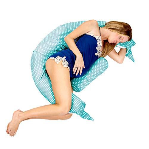 Koala Babycare® Almohada para Embarazadas para Dormir y Amamantar U pillow con soporte lumbar,...