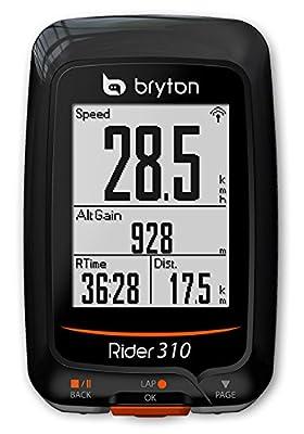 """Bryton Rider 310 GPS Cycling Computer (1.8"""" Display, 310E - Base Model (New Pack))"""