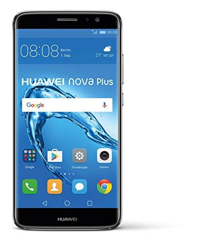 Huawei Nova Plus - Smartphone Libre Android (5.5', 32 MP, 3 GB RAM, 4G), Color Gris