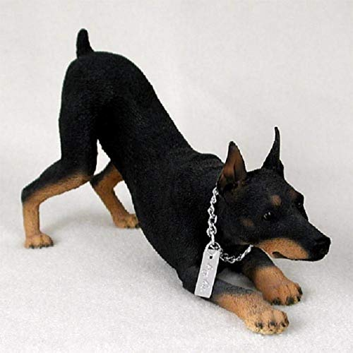 Conversation Concepts Doberman Pinscher Black w/Cropped Ears My Dog Figurine