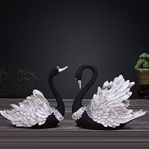Tyannan Creative Nordic swan Ornaments Home Creative Modern Wine Cabinet Decorations Living Room Minimalist Crafts Wedding Wedding Gifts