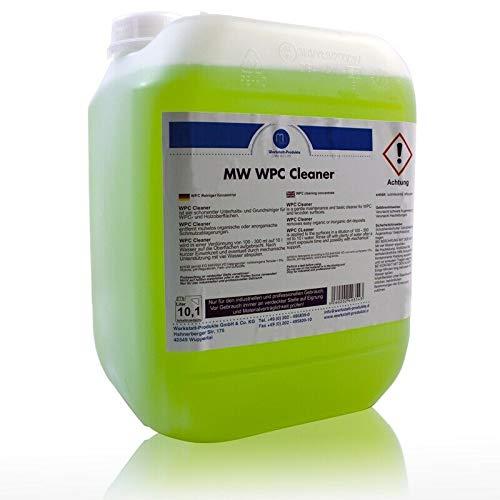 10 Liter MW WPC Grundreiniger Terassendielen Reiniger für Holz-Kunststoff Dielen