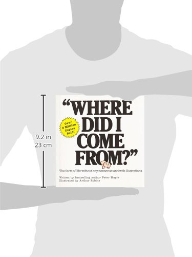 Where Did I Come From?: An Illustrated Childrens Book on Human Sexuality