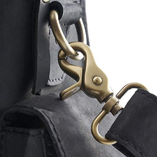 A.P. Donovan - Notebooktasche   Laptoptasche aus Leder   Aktentasche   Notebooktasche   Notebook Ledertasche   Büffelleder