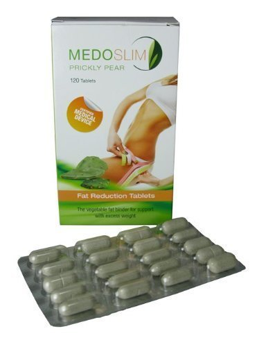 Medoslim Prickly Pear Fat Reduction Tablets