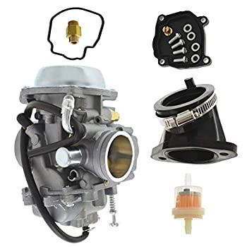 ALL-CARB Carburetor with Intake Boot Manifold Replacement for Polaris Hawkeye 300 400 Magnum 425 Worker 500 Carb
