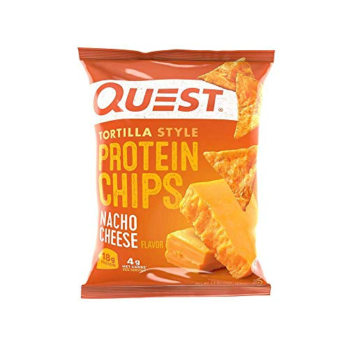 Quest Nutrition Protein Chips - Tortilla Style - 30 Count (Nacho)