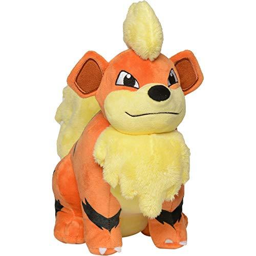 Pokemon Growlithe Plush Stuffed Animal - 8 inches