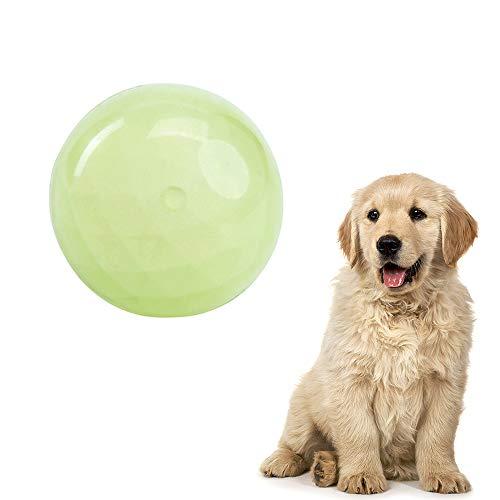 LYINBO Gummibälle für Hunde, Spielzeugbälle für Hunde, Leuchtball, bissfest, weicher Haustierball, interaktives Trainingszubehör, Spielzeug für Hunde, Durchmesser 7,8 cm – M
