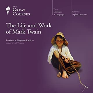 The Life and Work of Mark Twain cover art