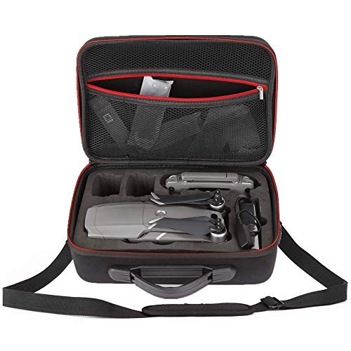 GENORTH Custodia da Trasporto per DJI Mavic 2 PRO Mavic 2 Zoom, Si Adatta Il Drone, Batterie, Controller, Caricabatterie, propulsori e Accessori (Nero)