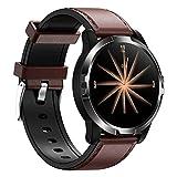 LLM IP67 impermeabile, GO3 Smartwatch da uomo ECG HRV cardiofrequenzimetro Wristband 10 modalità sport pressione sanguigna monitoraggio dell'ossigeno, orologio intelligente (L)
