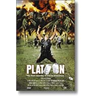PLATOON MOVIE POSTER Charlie Sheen RARE HOT NEW 24X36