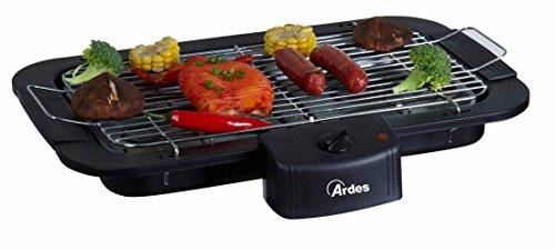 Ardes ar1b02Elektrischer Tischgrill tragbar schwarz 2000W