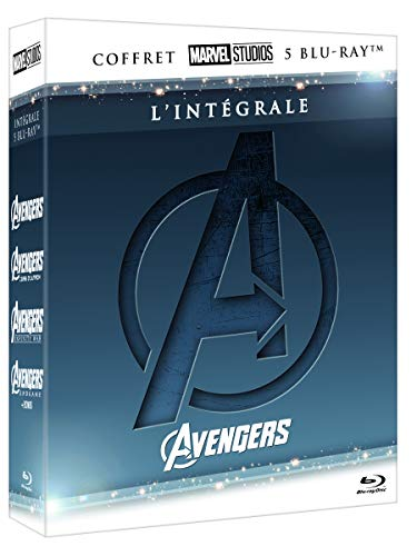Avengers-Intégrale-4 Films [Blu-Ray]