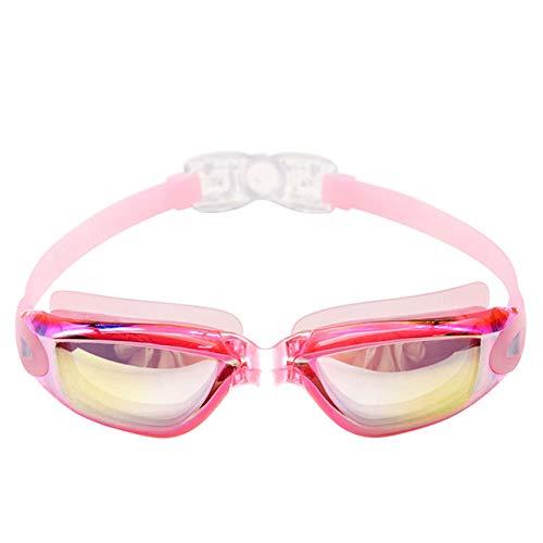 CRSM nieuwe zwembril mannen siliconen waterdichte anti-mist concurrerende professionele sport glas water duiken zwembad bril